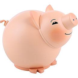 Kugelfigur Schwein - 9 cm