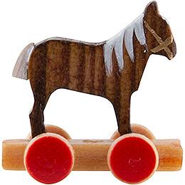 Pferdchen auf Räderbrett - 1,5 cm