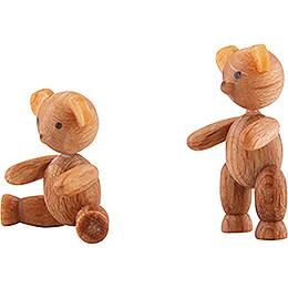 Zwei Bärenkinder - 2 cm