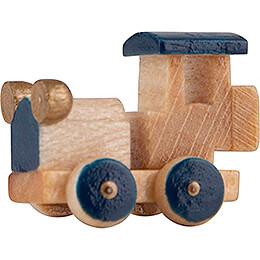 Oldtimer Car Blue - 1,3 cm / 0.5 inch