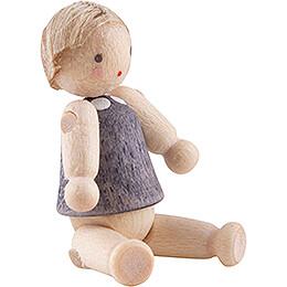 Doll with Hair, Boy - 2,8 cm / 1.1 inch