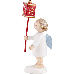 Flax Haired Angel with Miner's Lantern - 5 cm / 2 inch