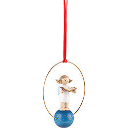 Tree Ornament - Angel with Music Book - 7 cm / 2.8 inch