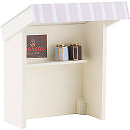 Flax Haired Children Stall for Chocolate Shopgirl - 8 cm / 3.1 inch