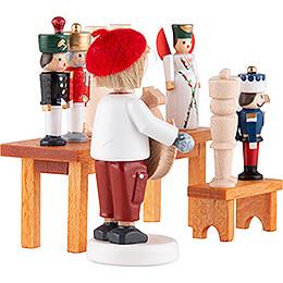 Flax Haired Children Toy Maker - 5 cm / 2 inch