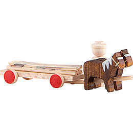Horse Cart with Timber - 2 cm / 0.8 inch
