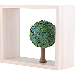 Apple Tree in Frame - without  Figurines - Summer - 13,5 cm / 5.3 inch