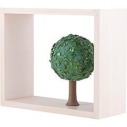 Apfelbaum im Rahmen - ohne Figuren - Sommer - 13,5 cm