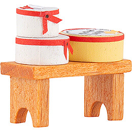 Bench with Chip Boxes - Edition Flade & Friends - 2,2 cm / 0.9 inch