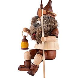 Räuchermännchen Wächterwichtel Kantensitzer - 25 cm