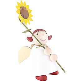 Schutzengel mit Sonnenblume - 26 cm