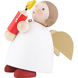 Guardian Angel with Candle - 16 cm / 6.3 inch