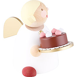 Guardian Angel with Fancy Cake - 16 cm / 6.3 inch