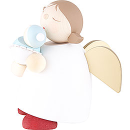 Schutzengel mit Baby Junge - 16 cm
