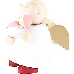 Schutzengel mit Baby Mädchen - 16 cm