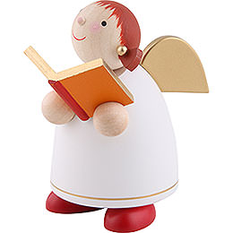 Guardian Angel with Book, White - 8 cm / 3.1 inch