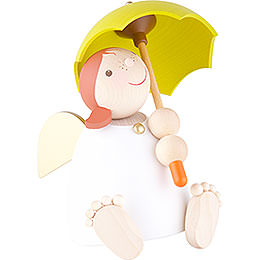 Guardian Angel with Umbrella - 16 cm / 6.3 inch