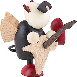 Little Devil Gustav with Electric Guitar - 7 cm / 2.8 inch