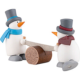 Fritz and Otto with Whipsaw - 9 cm / 3.5 inch