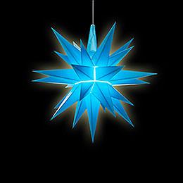 Herrnhuter LED-Sternenkette A1s blau Kunststoff - 14 m