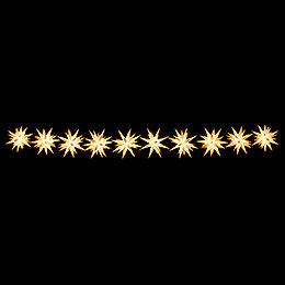 Herrnhuter LED-Sternenkette A1s weiß Kunststoff - 14 m
