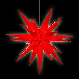 Herrnhuter Stern A13 rot Kunststoff - 130 cm