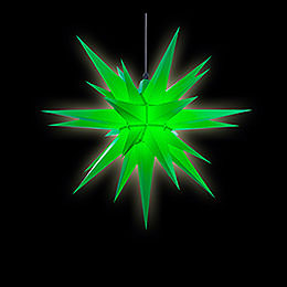 Herrnhuter Stern A7 grün Kunststoff - 68 cm