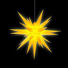 Herrnhuter Stern A7 gelb Kunststoff - 68 cm