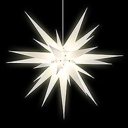Herrnhuter Stern I8 weiß Papier - 80 cm