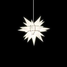 Herrnhuter Stern I4 weiß Papier - 40 cm