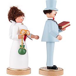 Smoker - Wedding Couple - 22 cm / 8.7 inch