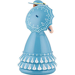 Biedermeier Lady in Blue - 11 cm / 4.3 inch