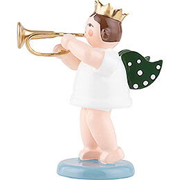 Engel mit Krone und Kornett - 6,5 cm