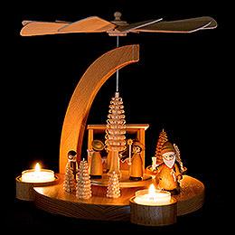 1-Tier Pyramid Christmas Market - 25 cm / 9.8 inch