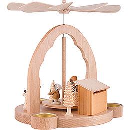 1-Tier Pyramid Christmas Market - 26 cm / 10.2 inch