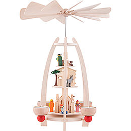 3-Tier Pyramid - Nativity - 35 cm / 13.7 inch