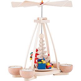 1-Tier Pyramid - Santa Claus - 23 cm / 9.8 inch
