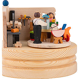 Music Box Toy Maker Workshop - 8,5 cm / 3.3 inch