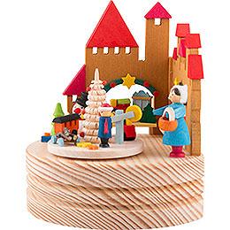 Music Box Christmas Market - 11,5 cm / 4.5 inch