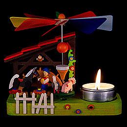 1-stöckige Pyramide Hans im Glück - 12 cm