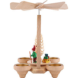 1-Tier Pyramid - Gnome - Colored - 26 cm / 10.2 inch