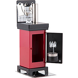 Smoking Stove - The Classic Red/Black - 19 cm / 7.5 inch