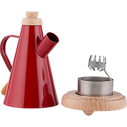 Smoker - Jug Red - 10,5 cm / 4.1 inch