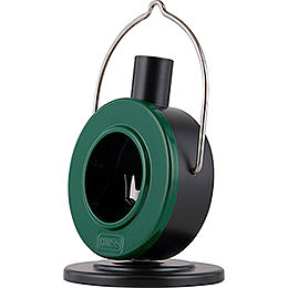 Smoking Stove Disc Oven Green/Black - 12 cm / 4.7 inch