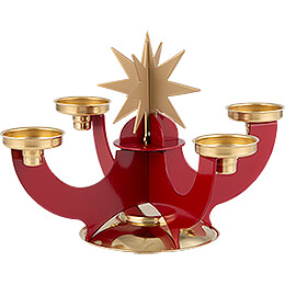Karzl-Leuchter - Der Wandelbare rot - 16 cm
