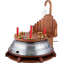 Spielett - Music Box for Christmas Tree Stand or Festive Decoration
