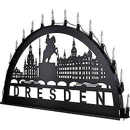 Schwibbogen für Außen Dresden - 100-300 cm