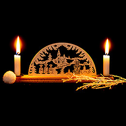 Candle Arch - Christmas - 29x8 cm / 11.4x3.1 inch