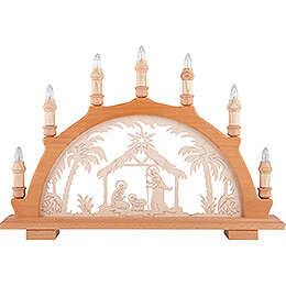 Candle Arch - Nativity - 49x36 cm / 19.3x14.2 inch