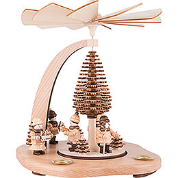 1-Tier Pyramid - Advent Singers - 24 cm / 9.4 inch
